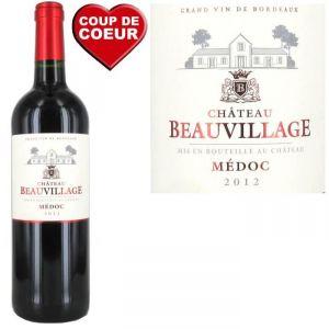 Château Beauvillage 2012 - Vin rouge de Bordeaux AOC Médoc