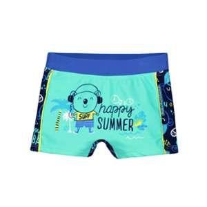 Petit Béguin Boxer de bain bébé garçon Happy Summer - Vert, Taille 36 mois (98 cm)