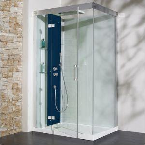 Kinedo Kineform 120 - Cabine de douche hydromassante et Hammam (120 x 90 cm)
