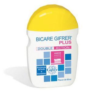 Gifrer Bicare Plus Double Action - Bicarbonate de soude + bromélaïne (60 g)