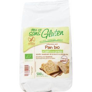 Ma vie sans gluten Préparation pour pain au Millet