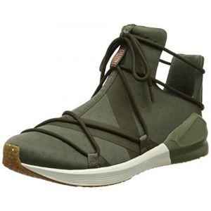 Puma Fierce Rope VR, Chaussures de Fitness Femme, Vert (Olive Night-Whisper White), 36 EU