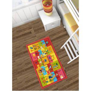 Unamourdetapis Tapis SPHINX ABC Multicolore 57 x 100 cm Tapis Enfants Plusieurs dimensions et couleurs disponibles