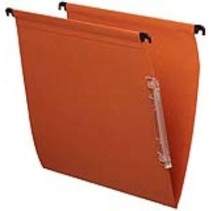 Majuscule Paquet de 25 dossiers suspendus M-Budget pour armoire (dos : 5 mm)