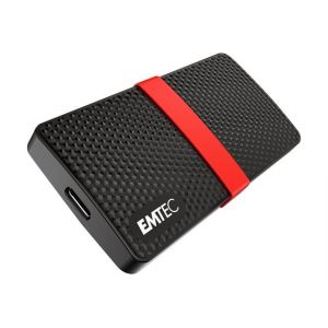 Emtec SSD Power Plus X200 - Disque SSD - 256 Go - externe (portable) - USB 3.1 Gen 1 (USB-C connecteur)