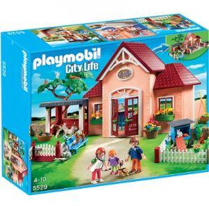 Playmobil 5529 City Life - Clinique vétérinaire avec animaux