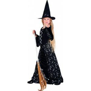 Déguisement sorcière demi-lune fille Halloween