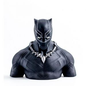 Semic Distribution Tirelire Black Panther - Buste Deluxe