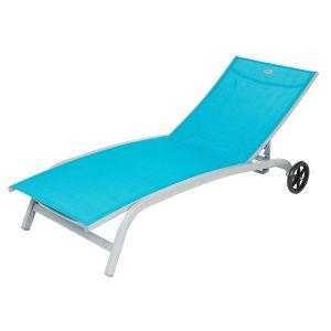 bain de soleil transat avec roulettes comparer 136 offres. Black Bedroom Furniture Sets. Home Design Ideas
