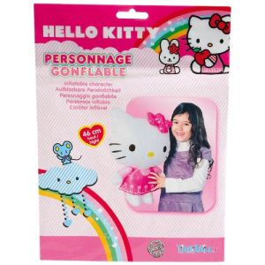 Partner jouet Poupée gonflable Hello Kitty (46 cm)