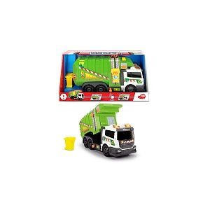 Dickie Toys Camion poubelle sonore et lumineux
