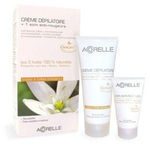 Acorelle Crème dépilatoire Visage + Soin anti-rougeur