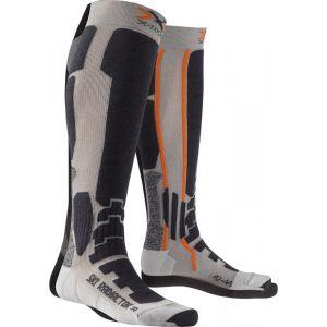 X-Socks Ski Radiactor Xitanit Technology Chaussettes gris 45/47 Chaussettes sports d'hiver