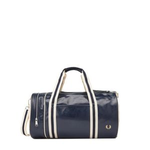 Fred Perry Sac de sport CLASSIC BARREL BAG - bleu - Taille Unique