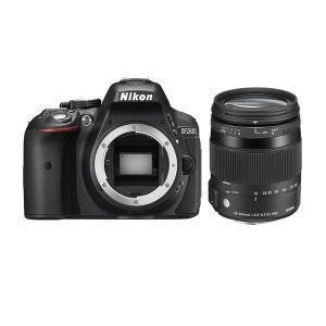 Nikon D5300 (avec objectif Sigma 18-200mm)