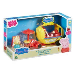 Giochi Preziosi Peppa Pig en vacances : le camion à glaces