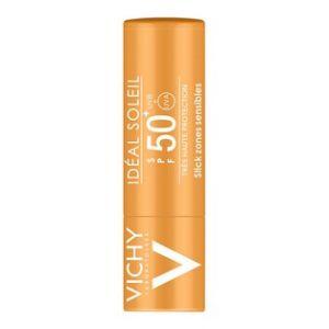 Vichy Idéal Soleil - Lait solaire zones sensibles SPF50