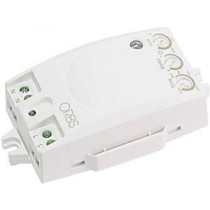Orbis zeitschalttechnik Détecteur de mouvements OB135012 pour l'intérieur encastrable 360 ° blanc IP20