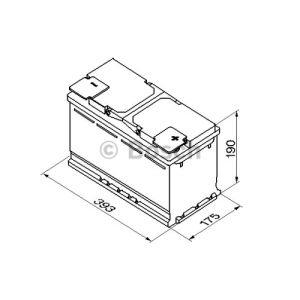 Bosch 0092S50150 - Batterie de démarrage