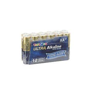 Toys R Us Pack de 12 piles Alcaline AA (LR06)