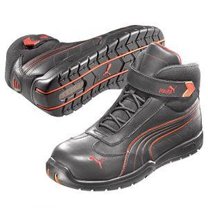 Puma Safety Chaussures hautes de sécurité Daytona Mid S3 HRO SRC Taille 39