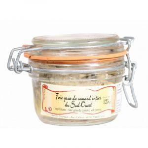 Halte Gourmande Foie gras de canard entier du Sud Ouest Igp Tg 125g