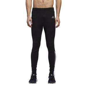 Adidas Run 3S Tgt M Pantalons de Compression Homme, Noir/Blanc, FR : M (Taille Fabricant : M)