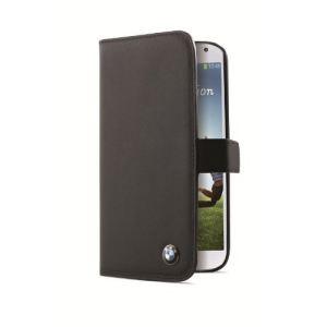 BMW BMFLHS4LB - Étui folio pour Samsung Galaxy S4 i9500