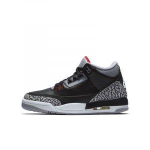 Nike Chaussure Air Jordan 3 Retro OG pour Enfant plus âgé - Noir - Taille 36