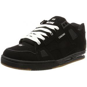Globe Sabre, Chaussures de Skateboard Homme, Multicolore (Black/Black/Gum) 44 EU