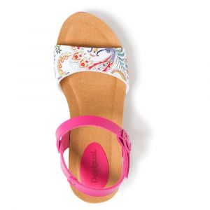 Desigual Sandales SHOES_BIO7_GALACTIC blanc - Taille 36,37,38,39,40,41