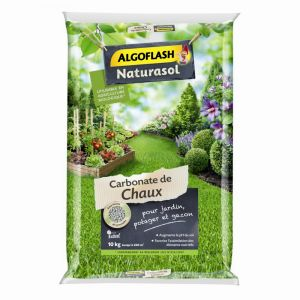 Algoflash Carbonate de Chaux Naturasol 10 kg