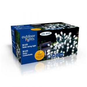 Outdoor Lights 98949 Guirlande L ineuse Solaire Plastique Multicolore