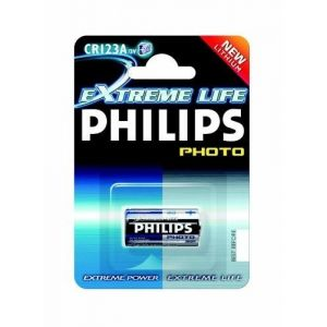 Philips CR123A - Extreme Life Photo - Pile Lithium - 3V