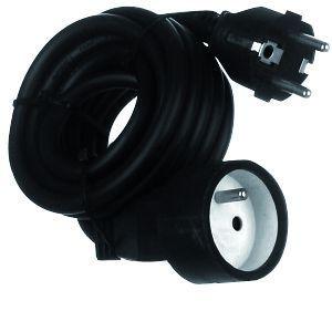 Prolongateur noir 5 mètres