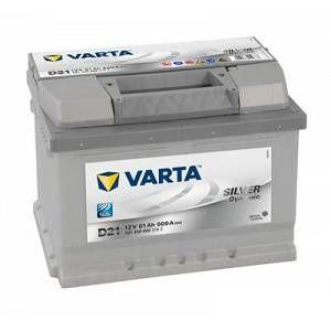 Varta Batterie D21 Silver Dynamic 61 Ah - 600 A