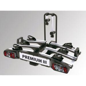 EUFAB Porte-vélos d'attelage plate-forme Premium 3 11522 pour 3 vélos compatible