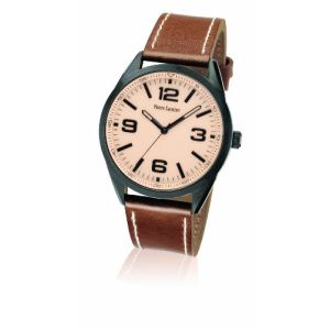 Pierre Lannier 212D4 - Montre pour homme avec bracelet en cuir Cityline
