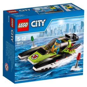 Lego 60114 - City : Le bateau de course