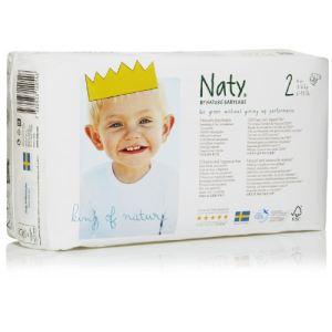Naty Couche Naty taille 2 Mini (3-6 kg) - paquet de 34