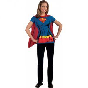 Rubie's Tee-shirt supergirl femme