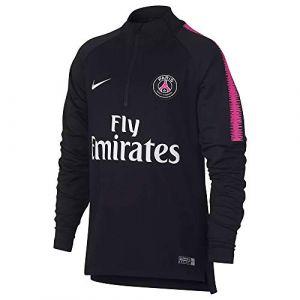 Nike Haut de football à manches longues Paris Saint-Germain Dri-FIT Squad Drill pour Enfant plus âgé - Rose - Taille XS