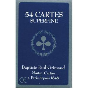France Cartes Jeu de 54 cartes Grimaud Superfine