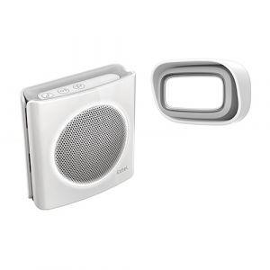 Extel Carillon Dibi Blanc - Carillon sans fil 200m flash