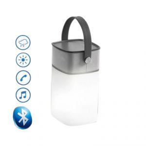 Icemat Icamp - Enceinte LED Bluetooth extérieur AUX Mains-libre