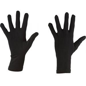 Icebreaker Adult Apex Glove Liners Sous gants black FR: L (Taille Fabricant: L)