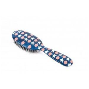 Rock and Ruddle Stars & stripes Petit Format - Brosse à cheveux en poils de sanglier