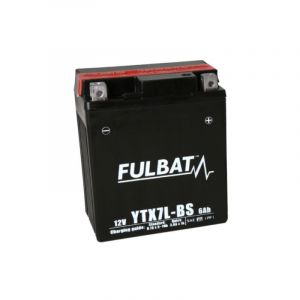 Fulbat Batterie moto YTX7L-BS étanche 12V / 6Ah