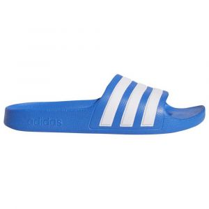 Adidas Claquettes enfant ADILETTE AQUA K - Couleur 37,38 - Taille Bleu