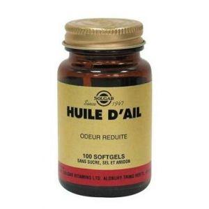 Solgar Huile d'ail (odeur réduite) - 100 gélules